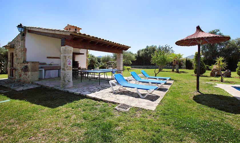 Barbecue Finca Mallorca Pool PM 3420