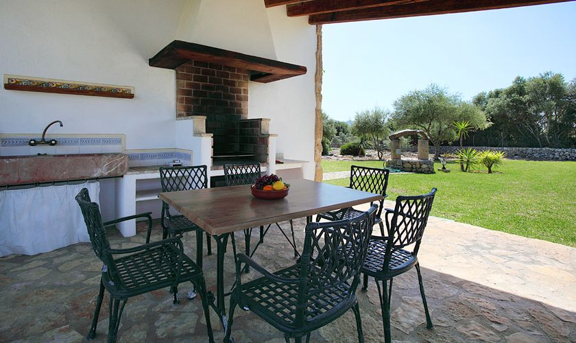 Barbecue Finca Mallorca Pool PM 3420