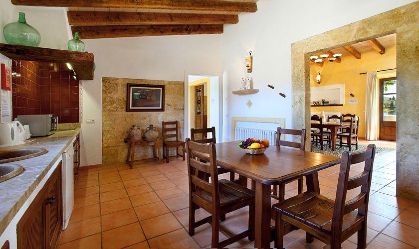 Küche Ferienfinca Mallorca 6 Personen PM 3420
