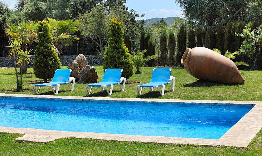 Poolblick Finca Mallorca Norden PM 3420