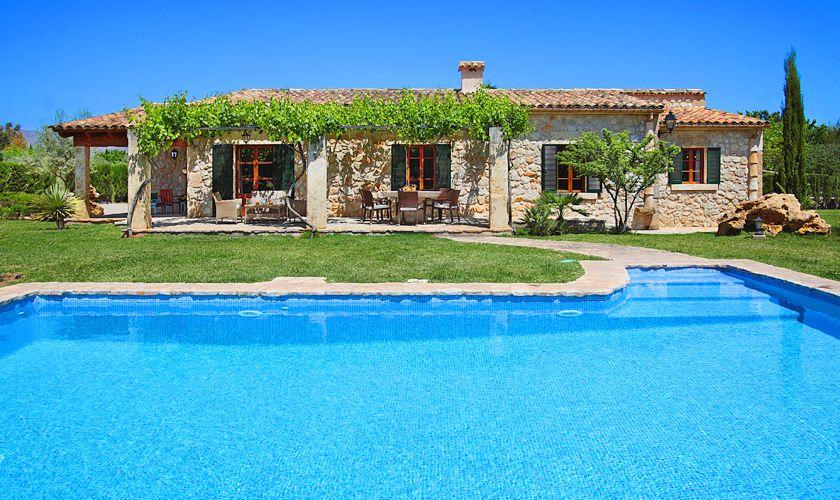 Pool und Finca Mallorca Norden PM 3420