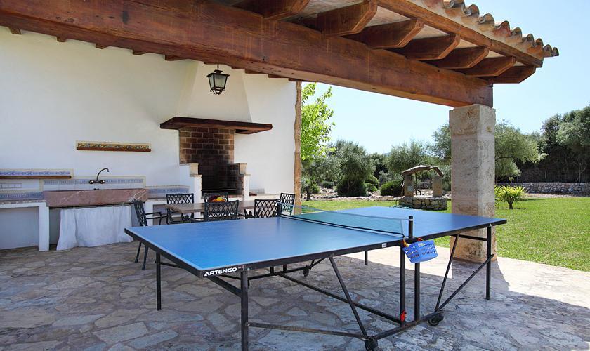 Tischtennis Finca Mallorca Pool PM 3420
