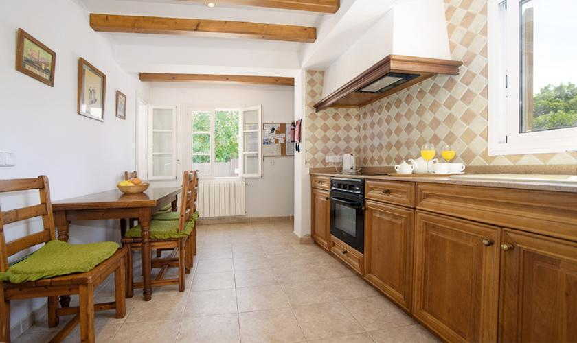 Küche Finca Mallorca 4 Personen PM 3427