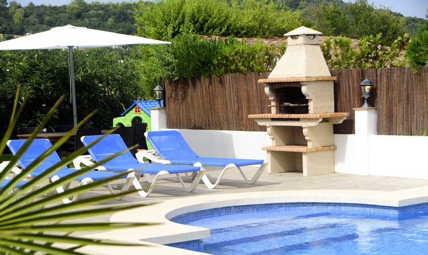 Pool und Barbecue Finca Mallorca 4 Personen PM 3427