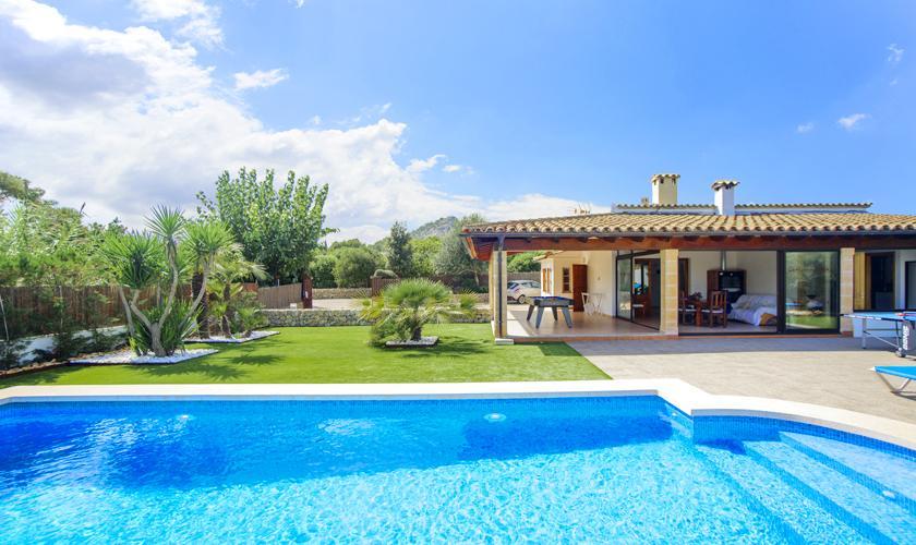 Pool und Ferienhaus Mallorca Norden PM 3427