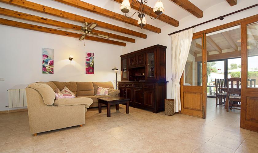 Wohnraum Finca Mallorca 4 Personen PM 3427