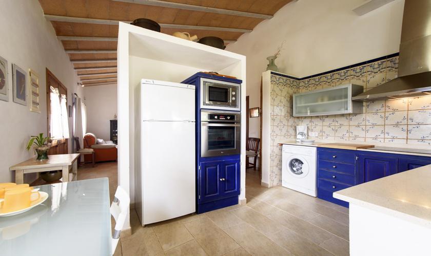 Küche Finca Mallorca mit Pool PM 3428