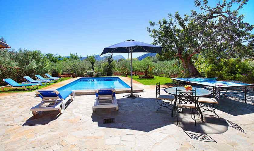 Pool Finca Mallorca für 6 Personen PM 3429