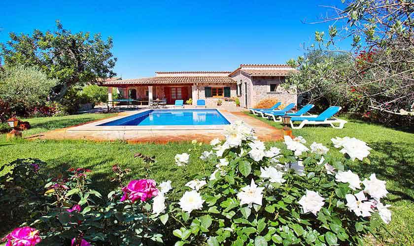 Pool und Finca Mallorca für 6 Personen PM 3429