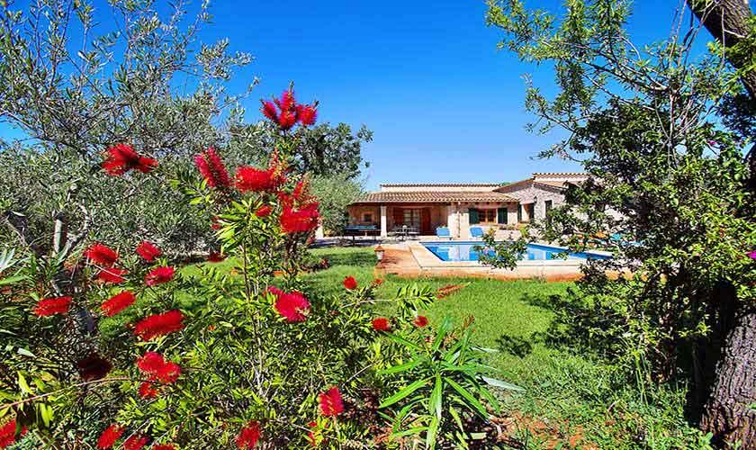 Garten und Finca Mallorca für 6 Personen PM 3429
