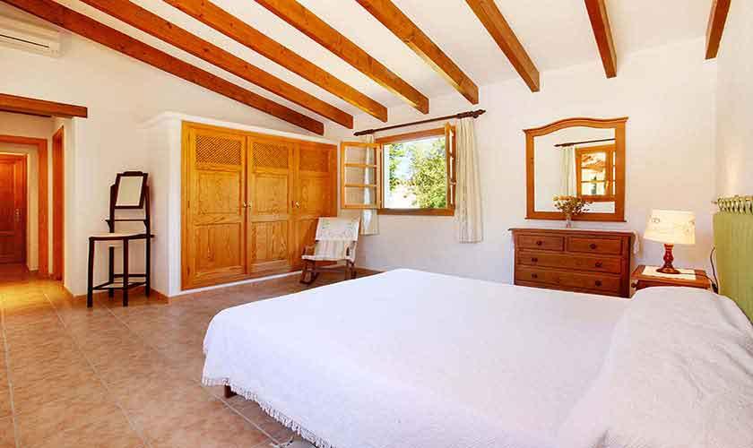 Schlafzimmer Ferienhaus Mallorca Norden PM 3429