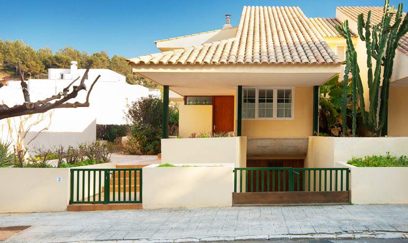 Blick auf das Ferienhaus Mallorca Nordküste PM 3489