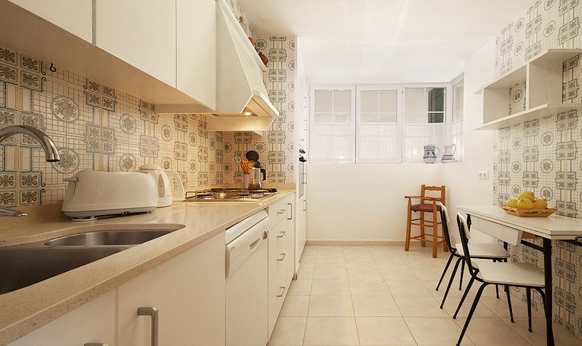 Küche Ferienhaus Mallorca Nordküste PM 3489