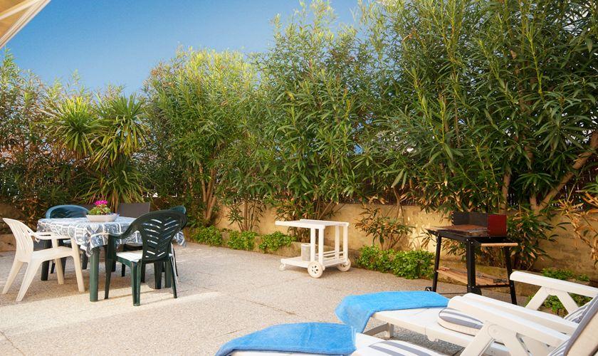 Terrasse Ferienhaus Mallorca Nordküste PM 3489