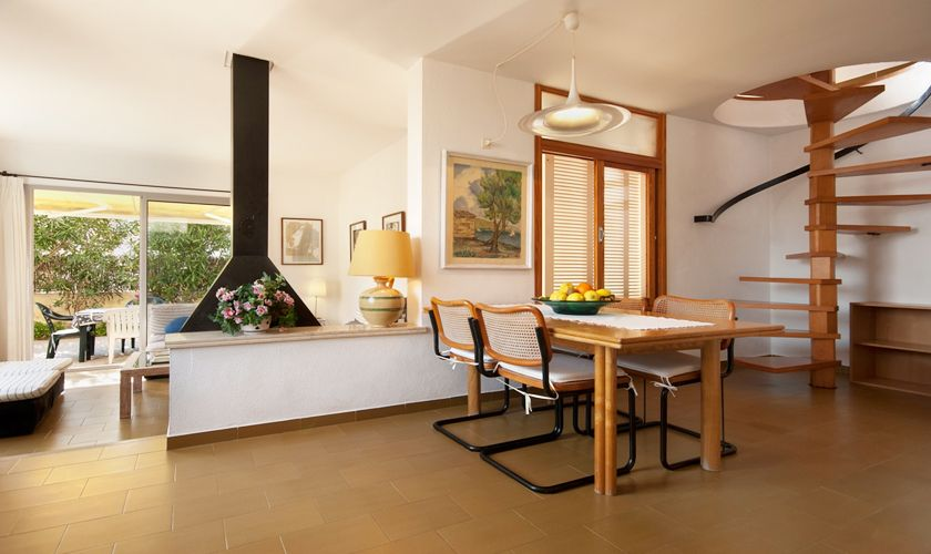 Wohnraum Ferienhaus Mallorca Nordküste PM 3489