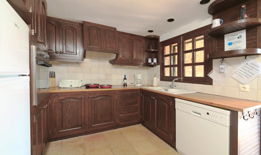 Küche Finca Mallorca Norden PM 3505
