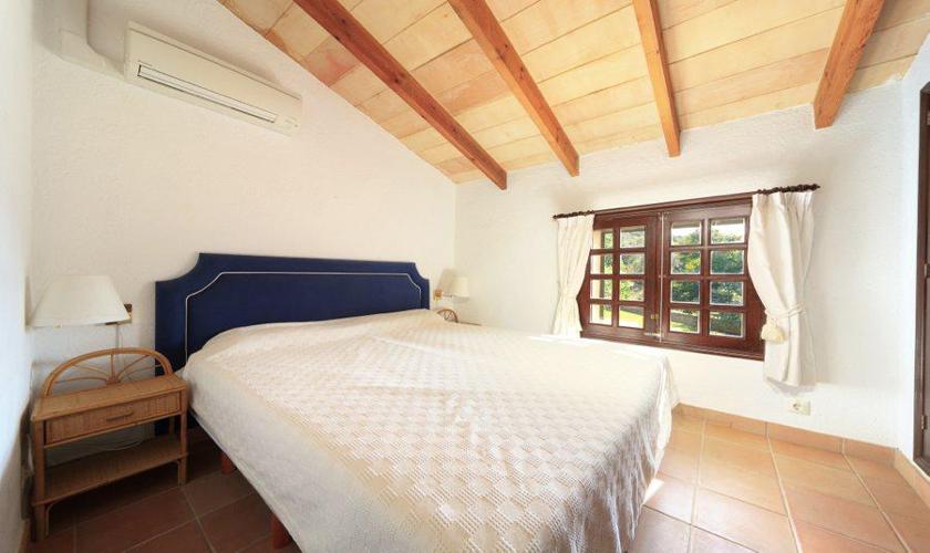 Schlafzimmer Ferienfinca Mallorca Norden PM 3505