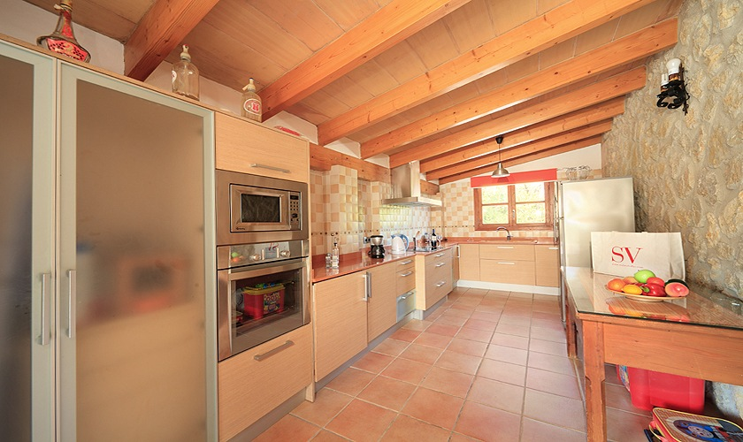 Küche Finca Mallorca 4 Personen PM 3506