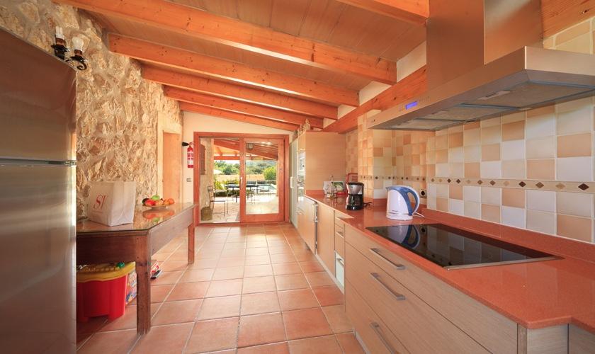 Küche Ferienfinca Mallorca 4 Personen PM 3506