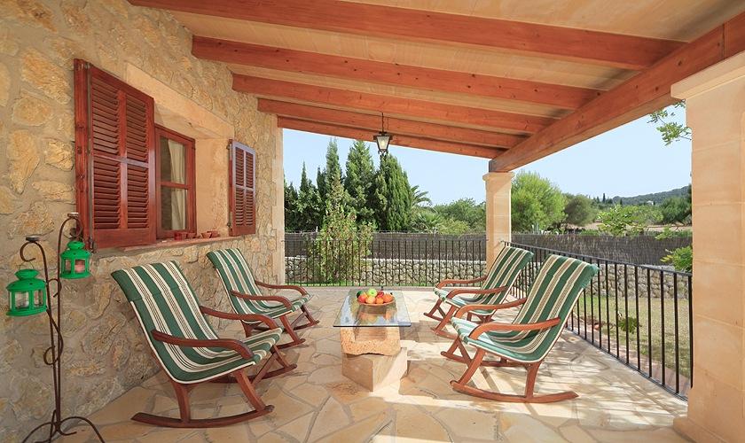 Terrasse Finca Mallorca 4 Personen PM 3506