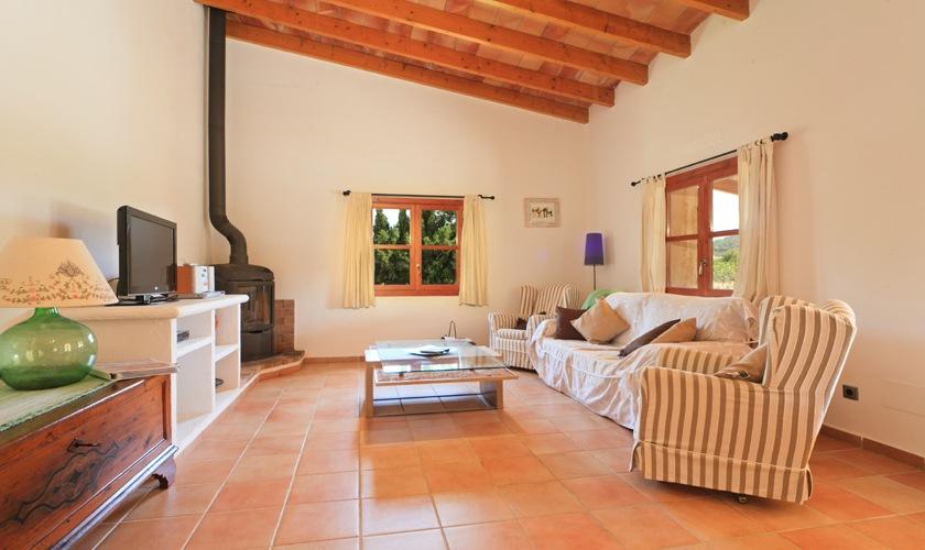 Wohnraum Finca Mallorca 4 Personen PM 3506