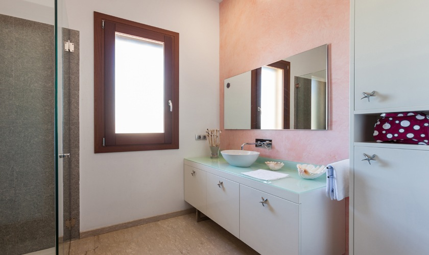 Badezimmer Exklusive Finca Mallorca 8 Personen PM 3507