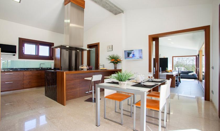 Küche Exklusive Finca Mallorca 8 Personen PM 3507