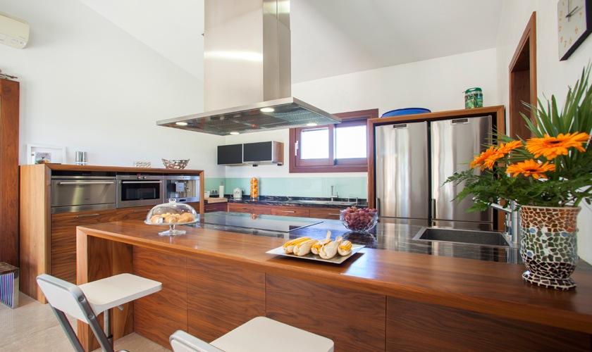 Küche Exklusive Finca Mallorca Norden PM 3507