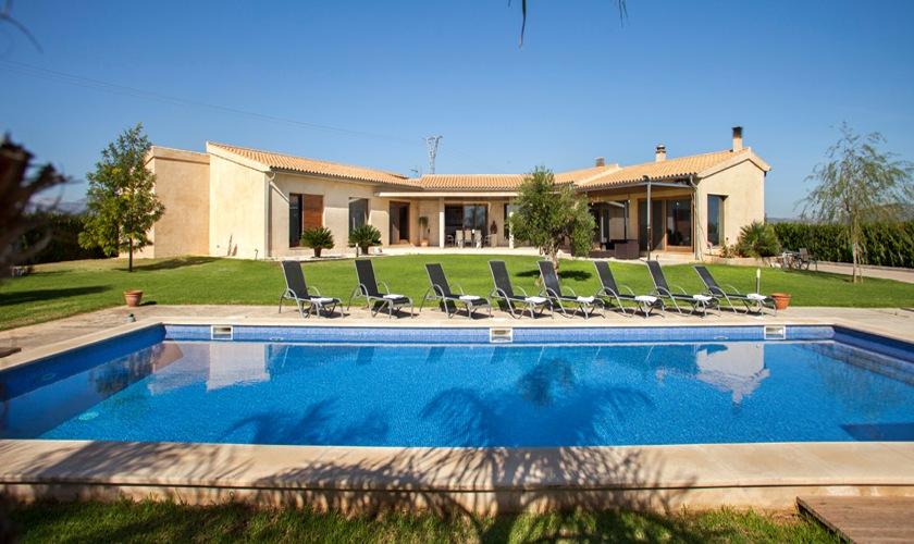 Pool und Ferienvilla Mallorca Norden PM 3507