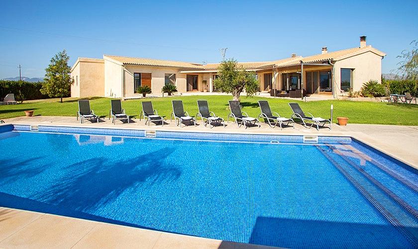 Pool und Villa Mallorca Norden PM 3507