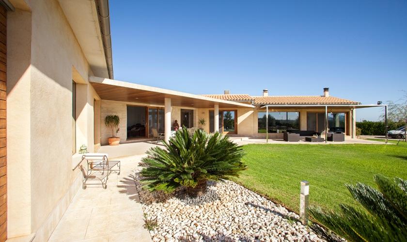 Terrasse Villa Mallorca Norden PM 3507