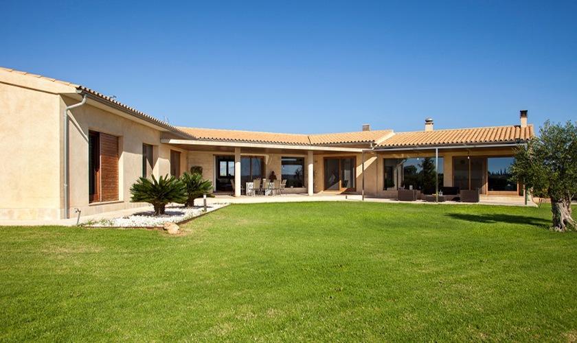 Blick auf die exklusive Villa  Mallorca Norden PM 3507