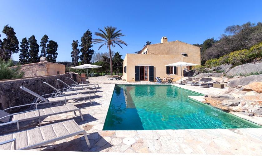 Pool und Finca Mallorca Nordküste PM 3508