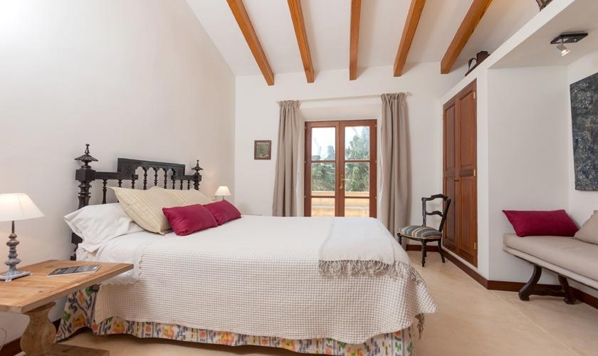 Schlafzimmer Finca Mallorca Nordküste PM 3508