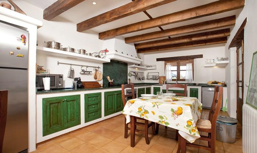 Küche der Finca Mallorca Norden PM 3509