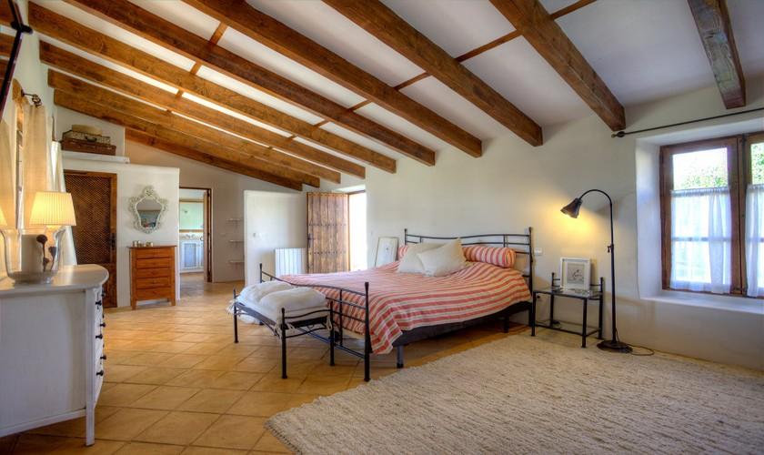 Schlafzimmer Ferienhaus Mallorca Norden PM 3509