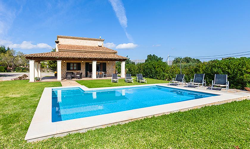 Pool und Ferienfinca Mallorca Norden PM 3510