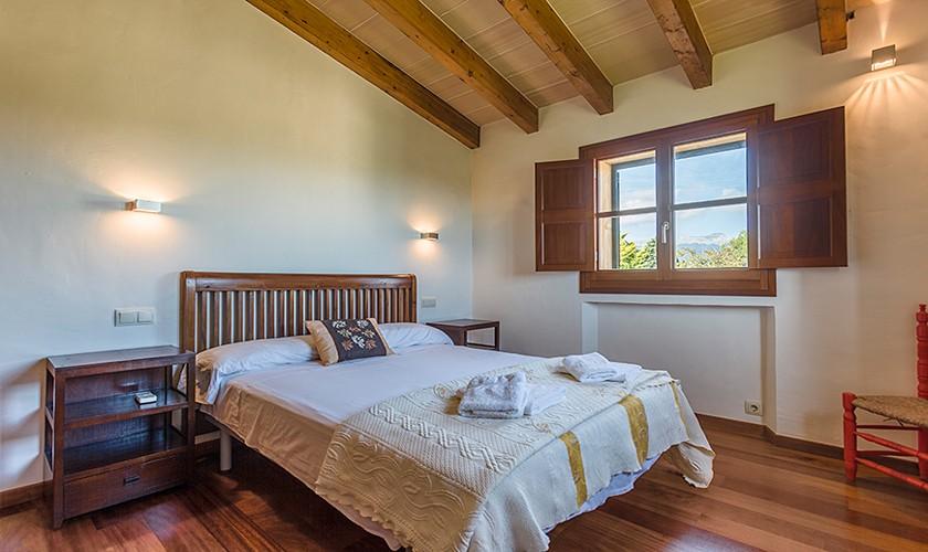 Schlafzimmer Finca Mallorca Norden PM 3510
