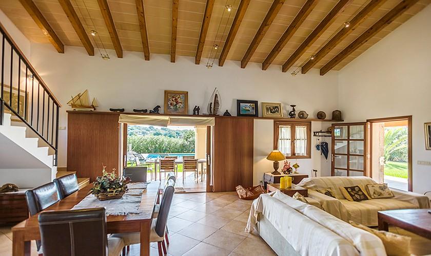 Wohnraum Finca Mallorca Norden PM 3510