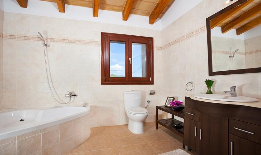 Badezimmer Finca Mallorca 10 Personen PM 3511
