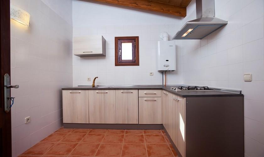 Küche Bungalow Ferienhaus Mallorca 10 Personen PM 3511