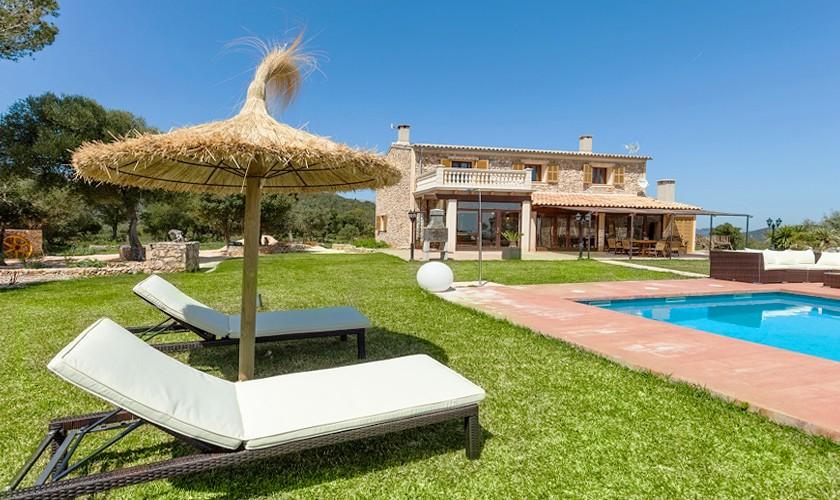 Pool und Finca Mallorca 10 Personen PM 3511