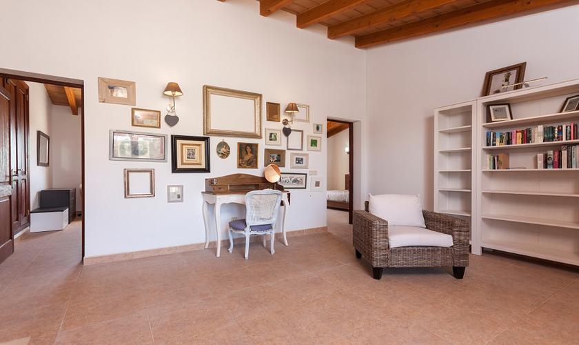 Wohnbereich Finca Mallorca 10 Personen PM 3511