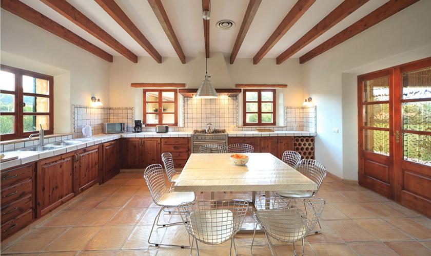 Küche Ferienfinca Mallorca PM 3512