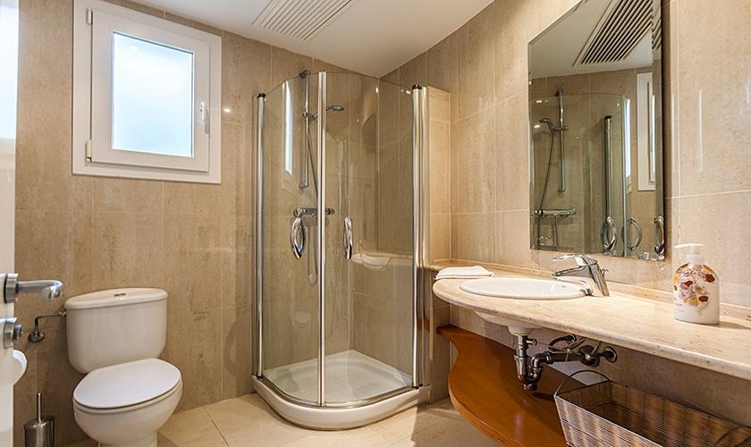 Badezimmer Ferienhaus Mallorca Strandnähe PM 3513