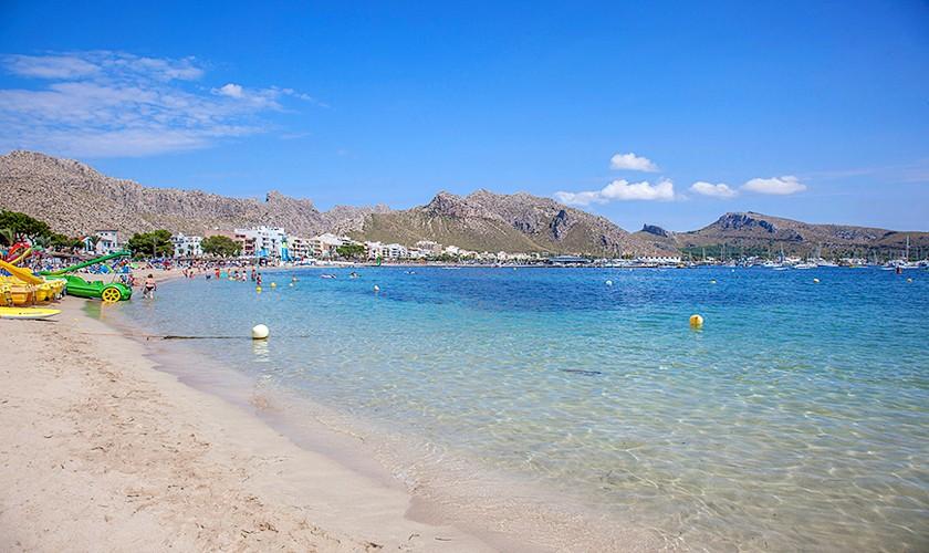 Strand 100m Ferienhaus Mallorca PM 3513