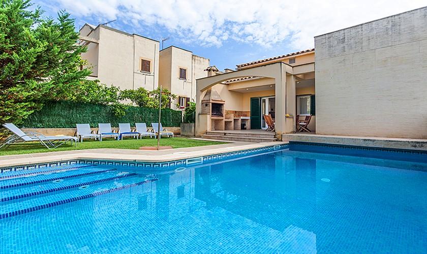 Pool und Ferienhaus Mallorca Strandnähe PM 3513