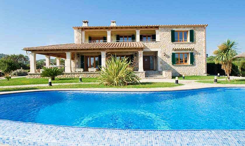 Pool und Ferienvilla Mallorca 10 Personen PM 3514