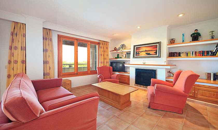 Wohnraum Finca Mallorca 10 Personen PM 3514