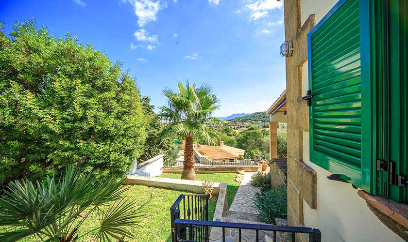 Terrasse Ferienvilla Mallorca Norden PM 3516